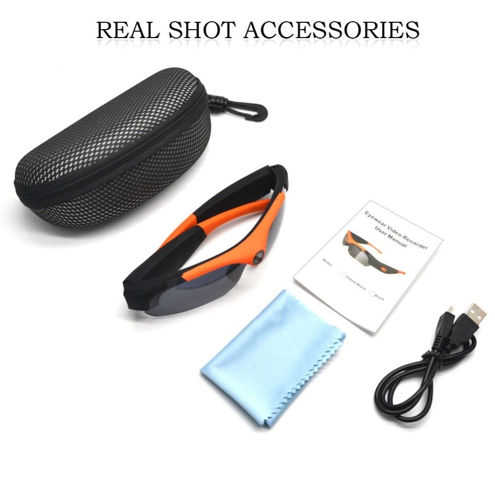 Light-weight HD 1080P Mini Camera Sunglasses Digital Video Recorder Glasses Sport Outdoor High Quality Mini DV Video Recorder St enlarge