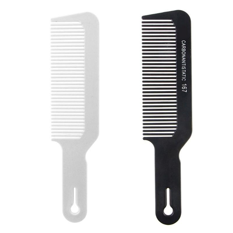 Nova clipper pente barbeiro plana superior clipper pentes cabeleireiro corte de cabelo ferramenta estilo