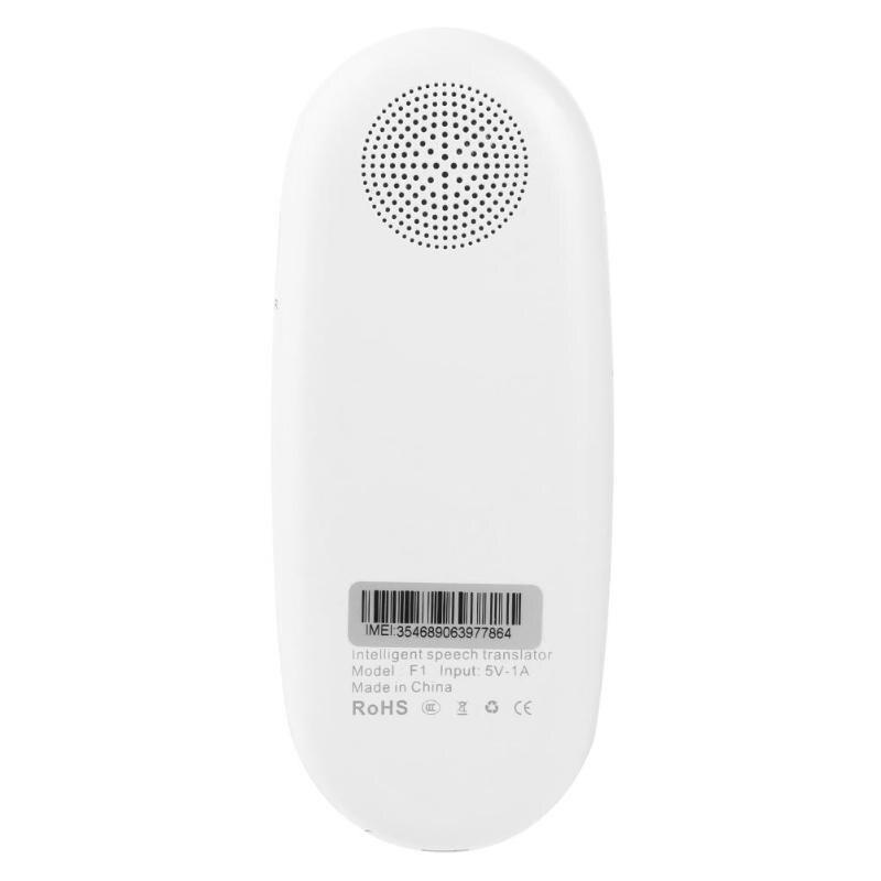 F1 2.4 inch Touch Screen Smart Voice Translator 126 Languages Smart Translator for Traveling Business Language Translate Machine enlarge