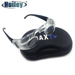 Binóculos de pesca óculos presbiopes lupa maxtv lupa olho distância tv tela assistindo baixo vison aids
