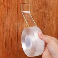 Ruban adhesif Double face  Scotch scotch etanche  sans trace  pour salle de bains  cuisine  evier  Gel autocollant