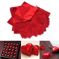 100pcs foil candy package paper chocolate foil paper wrappers navidad wedding party festival decoration christmas tree gifts