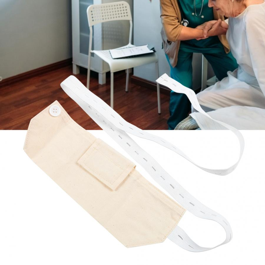 Orthopedic Brace Adjustable Elastic Abdominal Dialysis Protection Belt Tube Storage Pipeline Fixed Belt Therapy