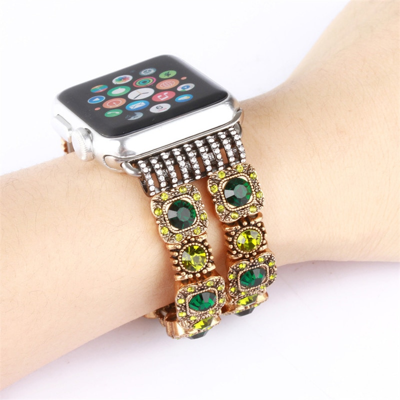 38 40mm 42 44mm plaid watch band for apple watch series 1 2 3 4 leather fabric wrist strap for iwatch belt replacement i343 Retro Watch Band For Apple Watch 6 5 4 3 2 44mm 40mm strap Bracelet For iWatch Band Replacement Series 6 5 4 3 38 42