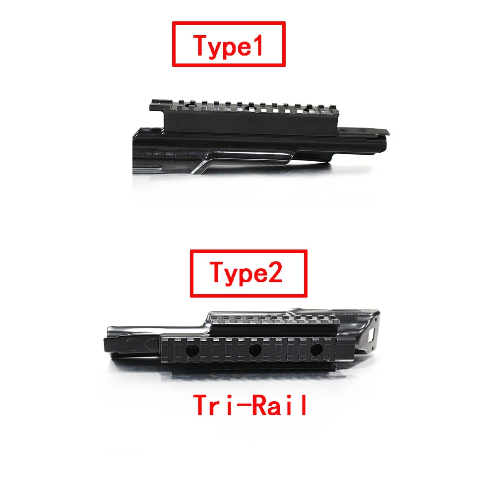 Tactical One Rail and Tri-rail Mount For AK47 Integral With 20mm Picatinny Weaver Aluminum Alloy  Black HuntingScope Rail Base недорого