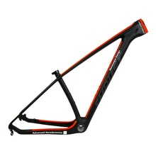 Cadre de vélo vtt rouge en Fiber de carbone 29e 27.5er T1000 cadre en carbone vtt chinois cadre en carbone VTT cadre en carbone