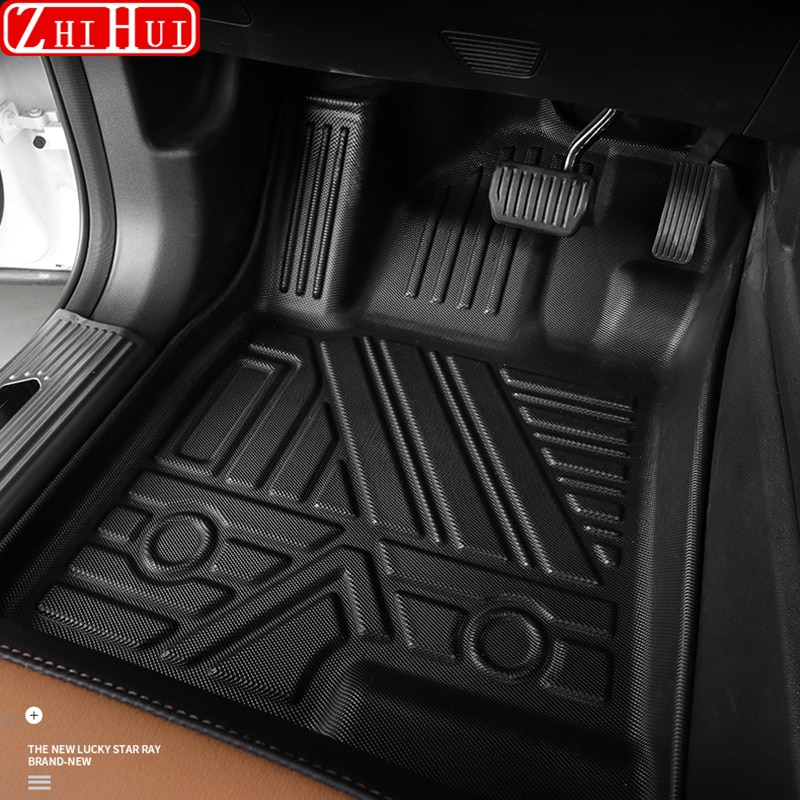 Car Styling Floor Mats For GWM Haval Hover Jolion 2021 Double Layer Custom TPE Foot Pads Cover Interior Floorliner Accessories enlarge