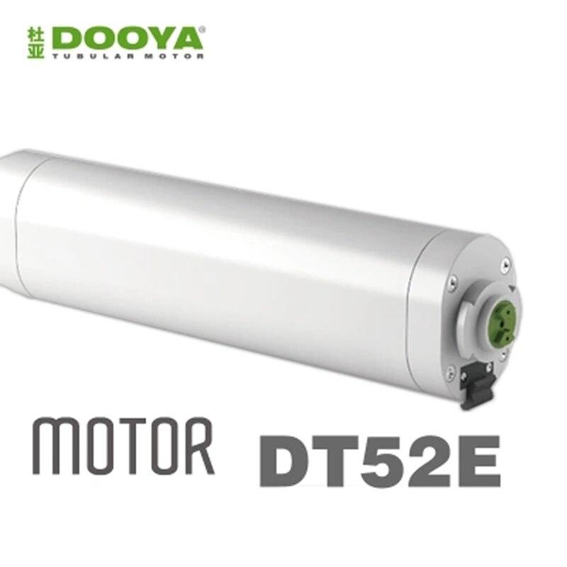 Dooya-ستارة كهربائية أصلية DT52E 45 واط ، محرك تيار مستمر 220 فولت RF433 ، جهاز تحكم عن بعد DC2700 يعمل مع broadlink rm4 pro