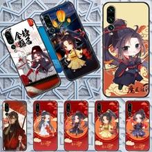 mo dao zu shi wangji Anime cartoon Phone case For Huawei P Mate P10 P20 P30 P40 10 20 Smart Z Pro Li