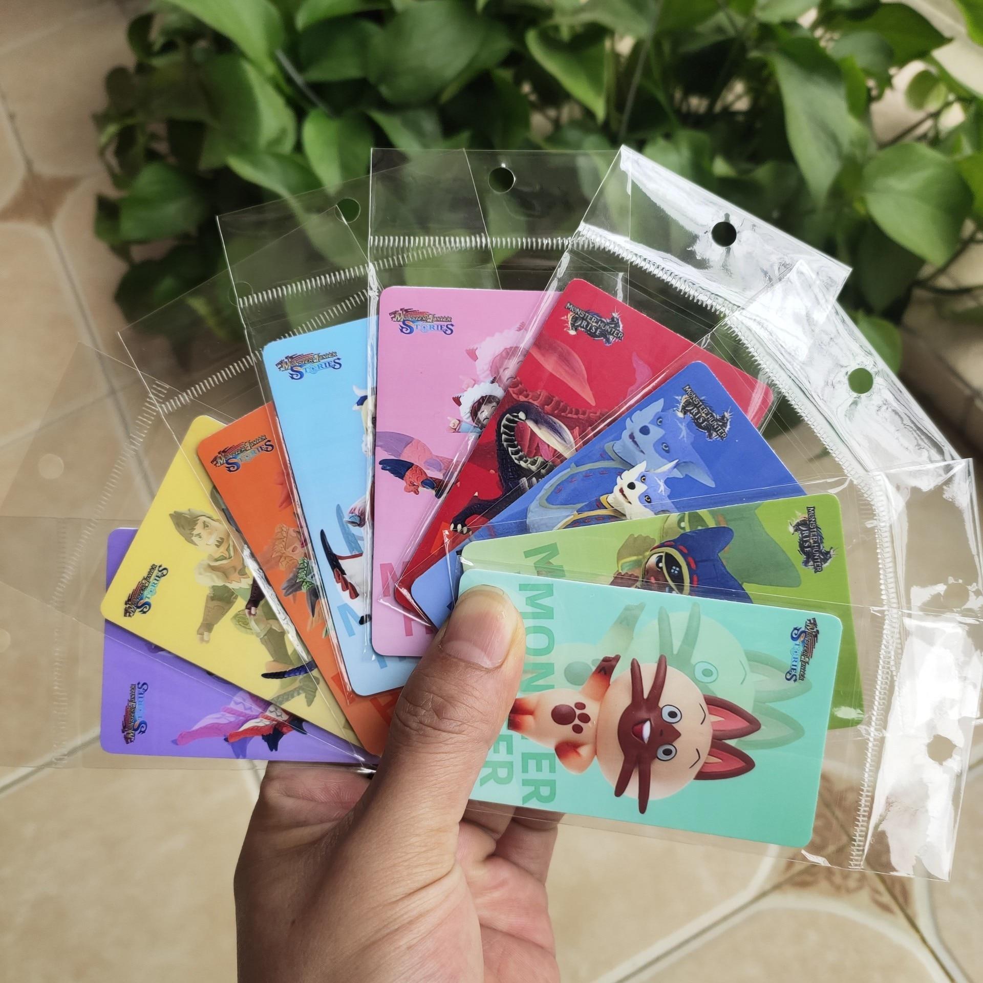 Monster Hunter Rise Amibo Game Card Hate tiger dragon gark AILU cat Standard Card Size 85.5*54mm