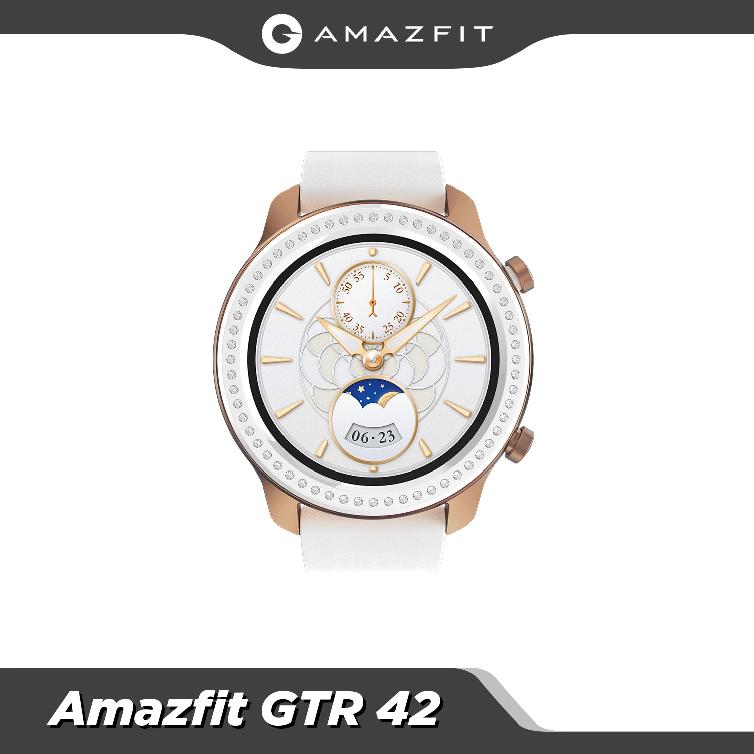 Review Global Version Amazfit GTR 42mm Smart Watch 5ATM Waterproof Smartwatch 24Days Battery GPS Music Control Leather Silicon Strap