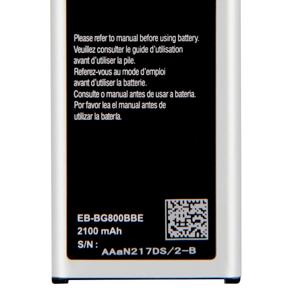 Samsung Original Replacement Battery EB-BG800CBE  For Samsung GALAXY S5 mini S5MINI SM-G800FG870a G870W  EB-BG800BBE  2100mAh enlarge