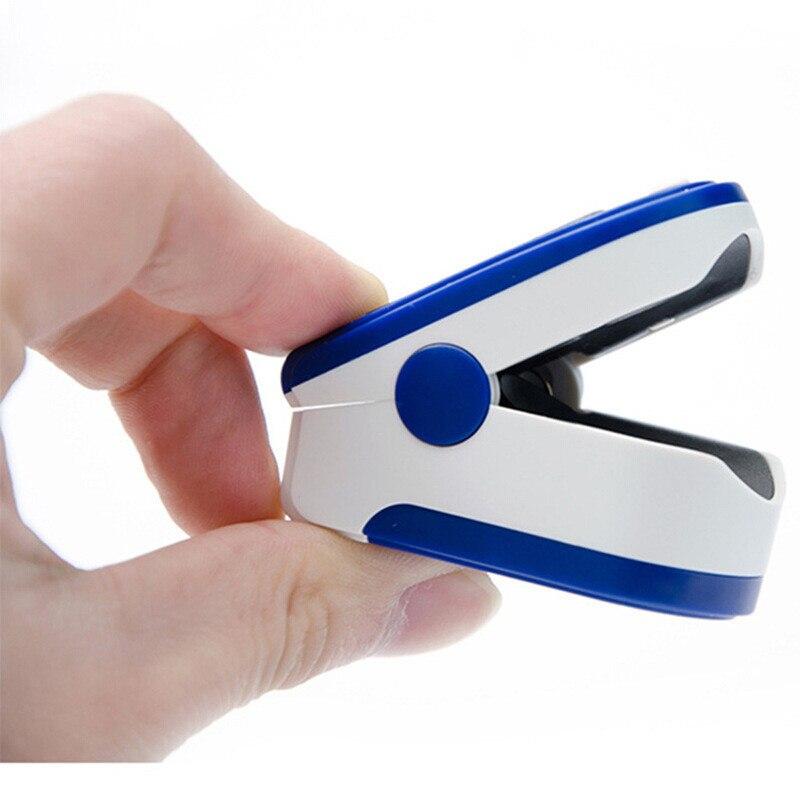 Medical Household Digital Fingertip Pulse Oximeter Blood Oxygen Saturation Meter Finger SPO2 Monitor Health Care