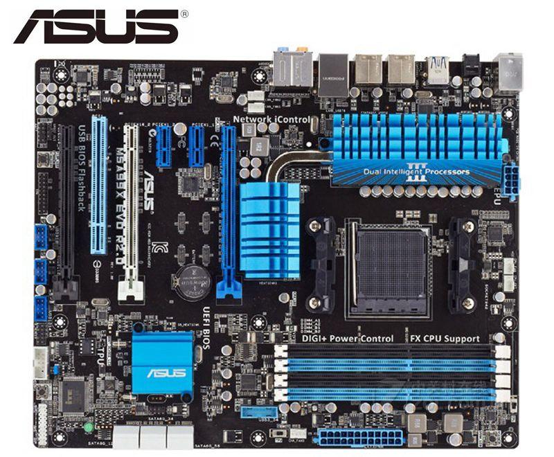 Asus M5A99X EVO R2.0 оригинальная настольная материнская плата розетка AM3 + DDR3 32 Гб SATA3 USB3.0 USB3.0 ATX Z97 б/у Материнские платы ПК
