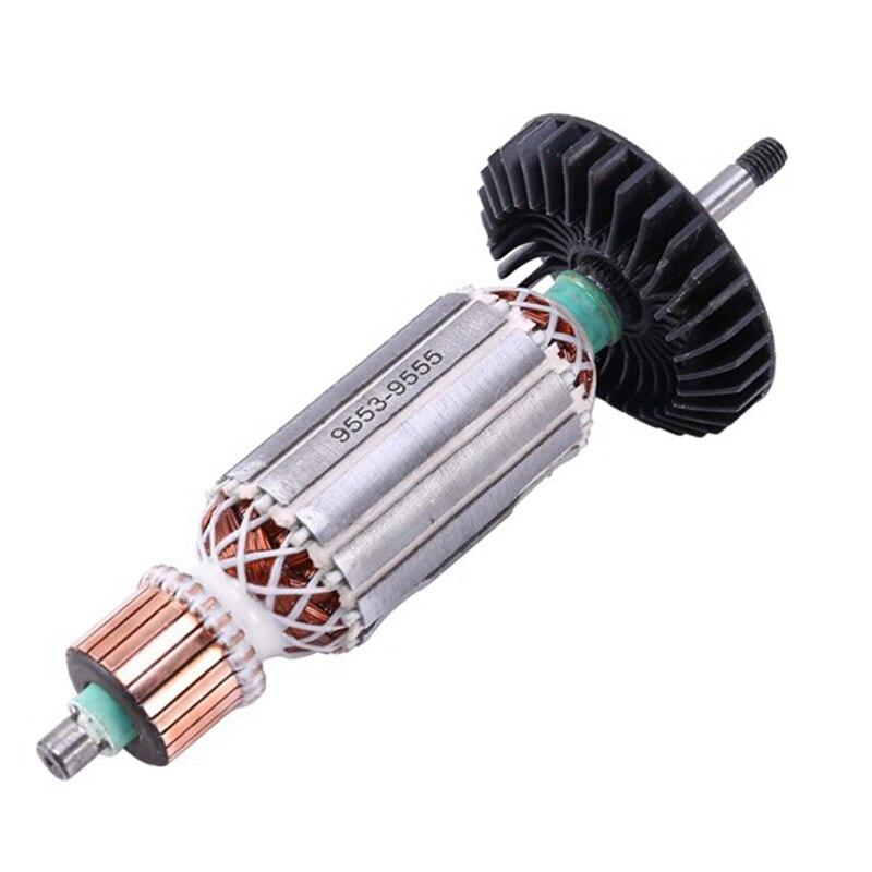 Фотошлифовальная машина, якорный ротор для Makita 9553NB 9553HB N 9555, фотоаксессуары