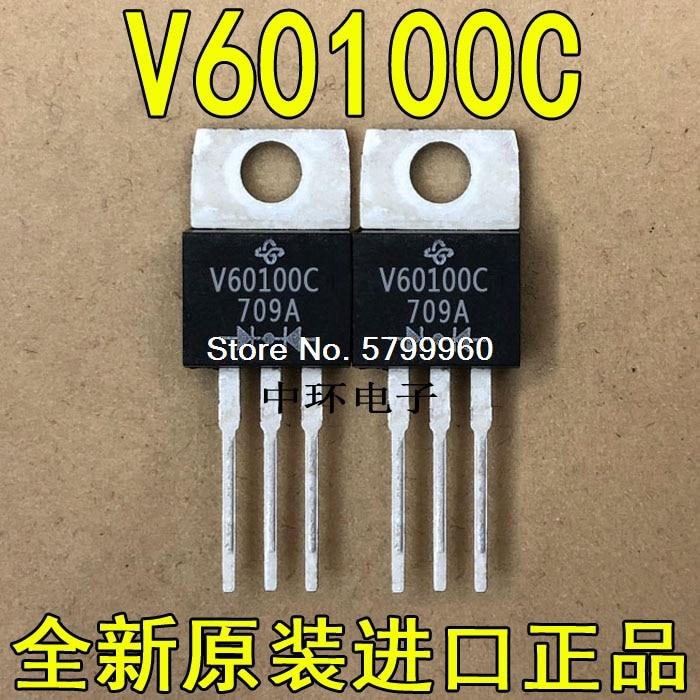 10 unids/lote V60100-220 60A 100V transistor