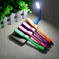 portable mini usb led book light flexible table reading lamp ultra bright dc 5v camping lights for power bank pc laptop notebook