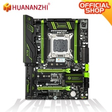 HUANANZHI X79 GRÜN 2,49 V 2,1 X79 motherboard LGA2011 ATX USB 3,0 SATA3 PCI-E NVME M.2 SSD unterstützung REG ECC speicher und Xeon E5
