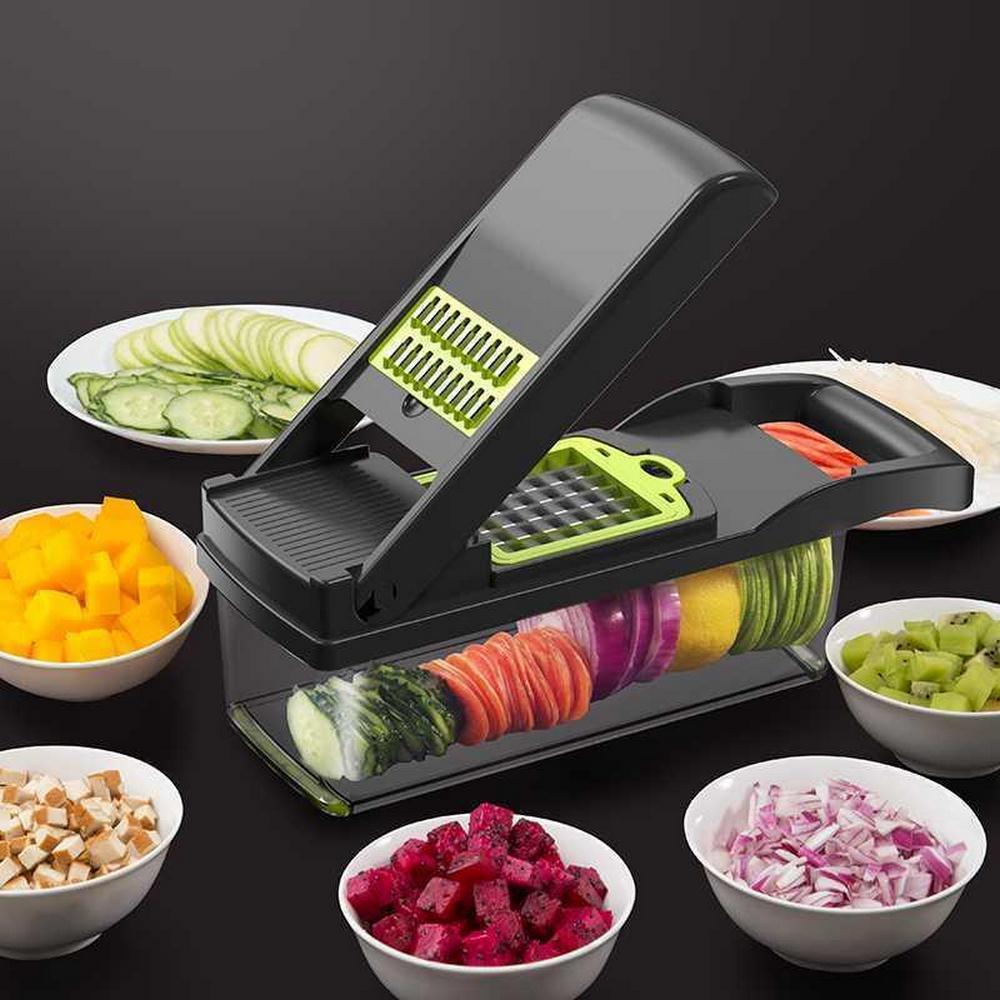 Cortador de Legumes Máquina de Corte de Batata Artefato Multifuncional Shredder Retalhadora Ralador Casa Batatas Fritas Carro