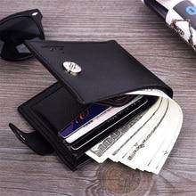 Hot Multifunction Purse Men Small wallet PU Leather Short Men's Wallet Male Card Holder Money Bag Portefeuille Homme carteira