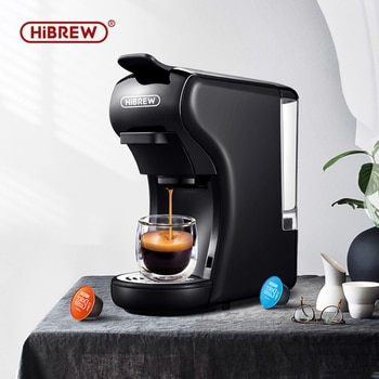 HiBREW 19 Bar 3 in 1 & 4 in 1 Multiple Capsule Espresso Coffee Machine, Pod Coffee Maker Dolce gusto Nespresso Powder H1