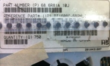 Inducteur de puissance de 6.6X4.45X2.92MM 6.8UH 1A   Blindé, 20% tol, SMT, RoHS