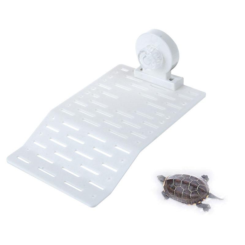 Saim decoración de acuario tortuga Clambing escalera plataforma para acuario peces reptil tanque de secado flotante isla Dock ornamentos