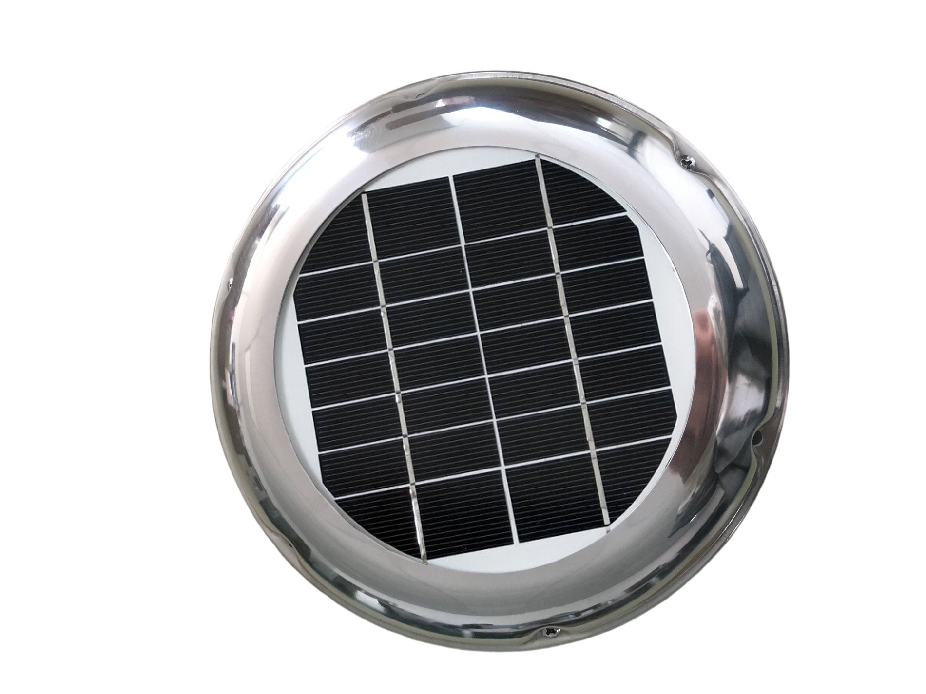 10w solar attic fan vent roof mounted exhaust ventilator 530cfm for greenhouse garage mobile toilet garden residential house 2.5W Stainless Steel Roof Solar Vent Fan Exhaust Ventilation 60CFM Waterproof ideal for RV Boat Container Greenhouse Toilet