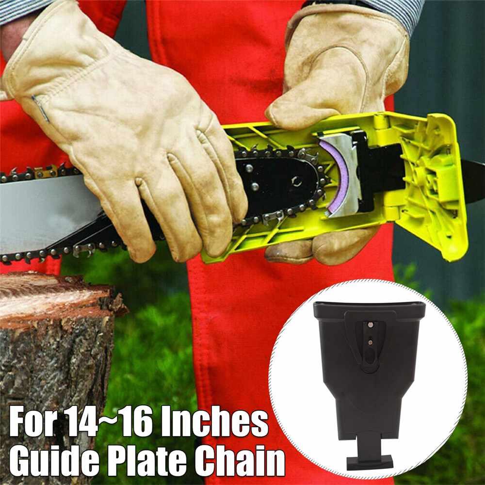 Motosierra dientes sacapuntas Bar-montado rápido de energía eléctrica Sierra sierra de cadena de afilar herramienta para trabajar la madera
