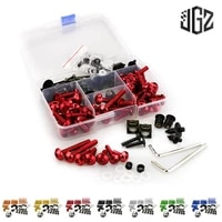 motorcycle aluminum full body fairing bolt kits windshield nuts screws for piaggio medley liberty byq fly 150 125 beverly 300
