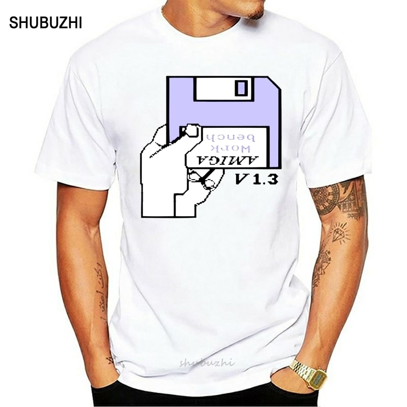 Camiseta para hombre Amiga 500 Workbench Unisex camiseta impresa camiseta top