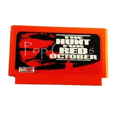 Cartucho de juego The Hunt For Red October, para consola de 8...