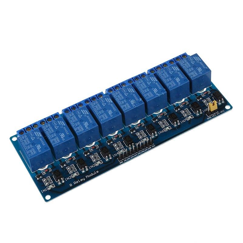 New-5V Módulo de relé electrónico 8-Protector de canal para 51 AVR ARM Logic