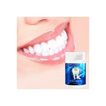 Blanchiment des dents poudre nettoyage rapide élimination des taches soins bucco-dentaires blanchisseur physique 50g dentifrice hygiène bucco-dentaire améliorer lhalitose
