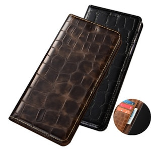 Luxury Genuine Leather Wallet Phone Bag Card Slot Holder Case For Asus ROG phone 5 Pro/Asus ROG phone 5 Phone Cover Magnetic