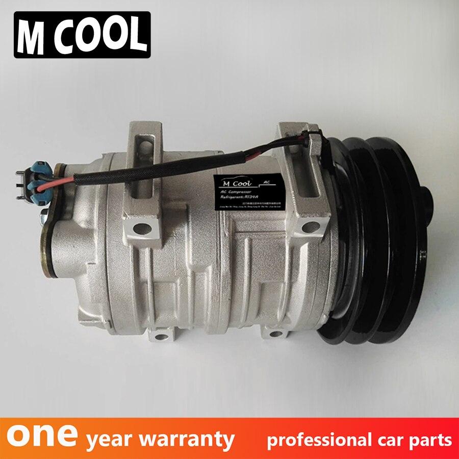 High quality Auto AC Compressor TM21 For Mitsubishi Rosa AC Compressor TM21 Air Conditioner Compressor