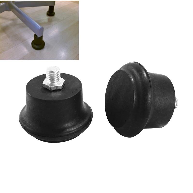 5 stücke Bolzen stuhl Füße Fest caster Boden Protector möbel Bein Glide Basis bürostuhl räder ersatz teile M10 schraube fuß