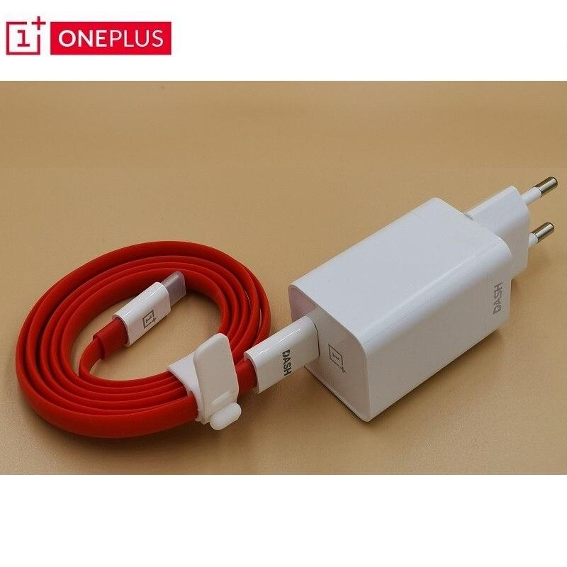 Cargador de salpicadero Oneplus 5V4A para uno más 6T 5/5 T/3/3 T carga de salpicadero adaptador 1 M/1,5 M Cable plano redondo de carga USB tipo C