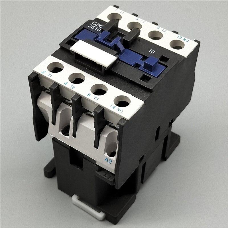 AC Contactor CJX2-2510 25A switches LC1 AC contactor voltage 380V 220V 110V 48V 36V 24V 12V Use with float switch