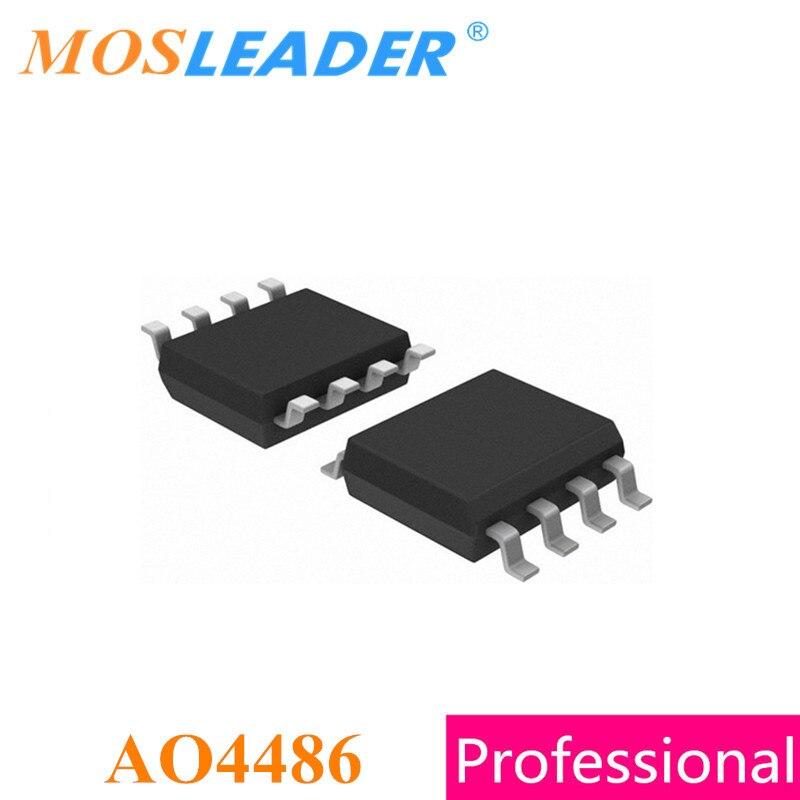 Mosleader AO4486 SOP8 100 قطعة 1000 قطعة 60V 100V 4.2A N-قناة عالية الجودة