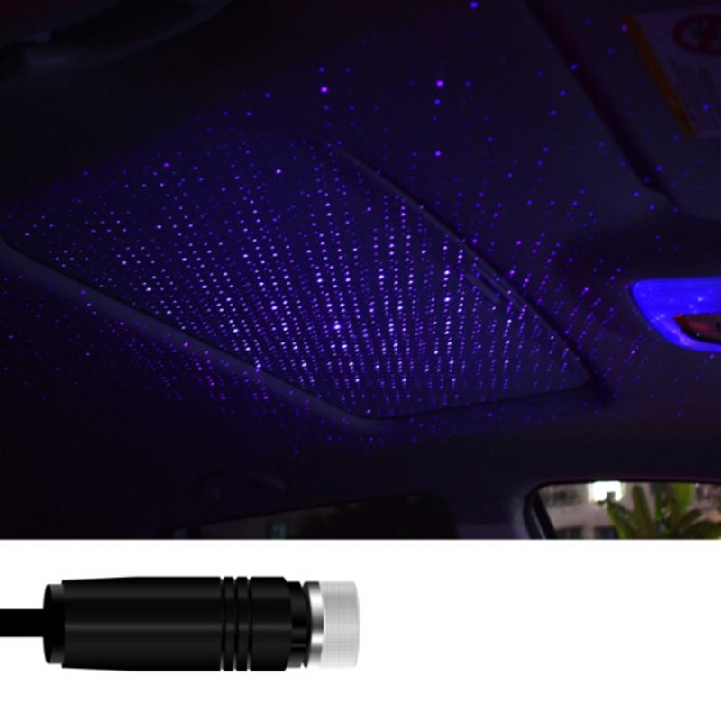 LED Car Roof Star Night Light Projector USB  Atmosphere Galaxy Lamp for Mercedes Benz A200 A180 B180 B200 CLA GLA AMG A B C E S