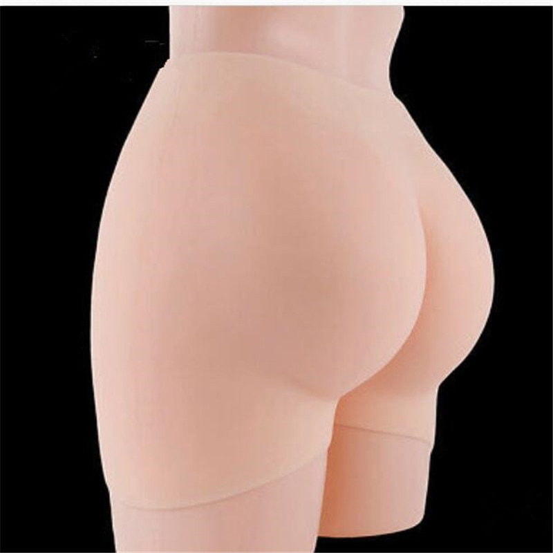 Newly Full Silicone Pants Pads Buttocks and Hips Enhancer Body Shaper Sexy Underwear Gift Birthday Christmas