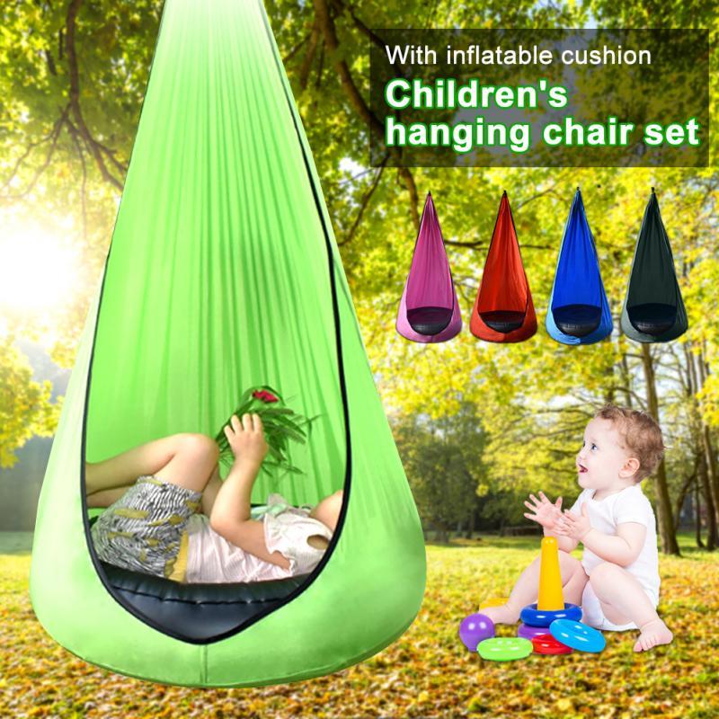 Детский гамак, садовая мебель, качели, кресло-качели для дома и улицы, подвесное сиденье, детское портативное кресло-качели для патио, 200 кг