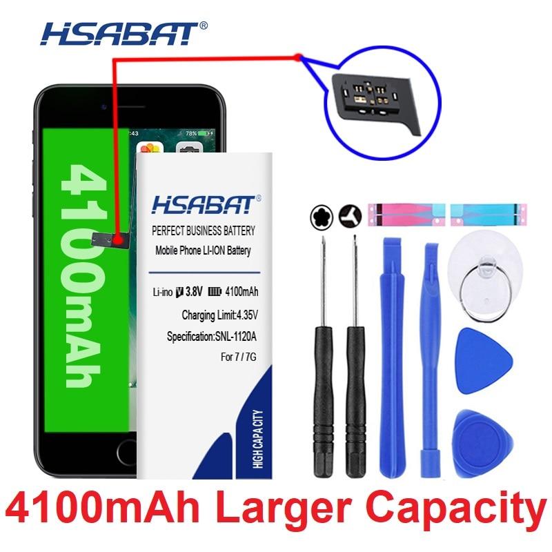 Аккумулятор высокой емкости HSABAT для iphone 5S, 6 S, iphone 6, 5, 7, подарок, наклейка + Инструменты