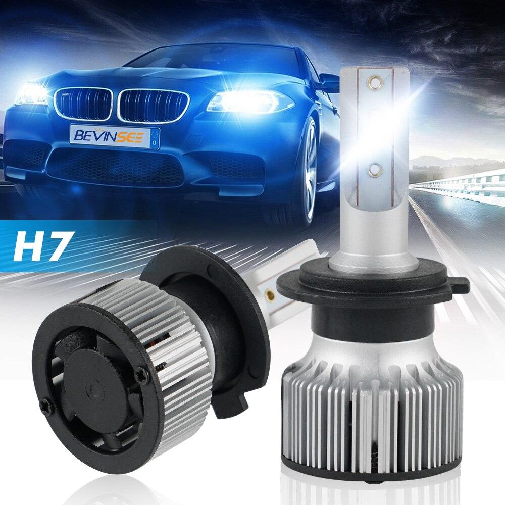 H7 faro LED BOMBILLAS de faros 10000LM 60W CSP CHIP para BMW X3 X5 Z4 E83 F25 E53 E70 E85 E86 para Mercedes-Benz C230 C240 C280