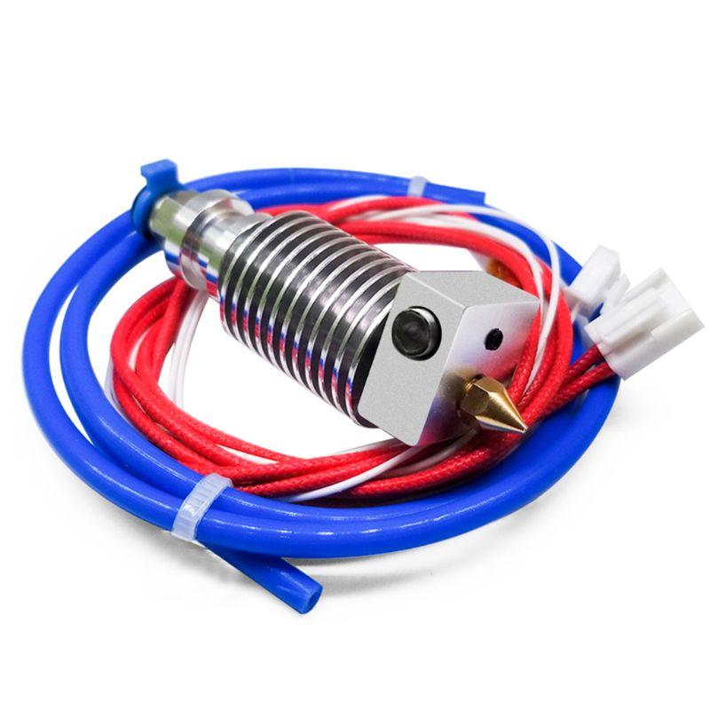 Imprimante pièces 24V assemblé extrudeuse Kit dextrémité chaude pour la créalité 3D CR10-V2 imprimante XXUC