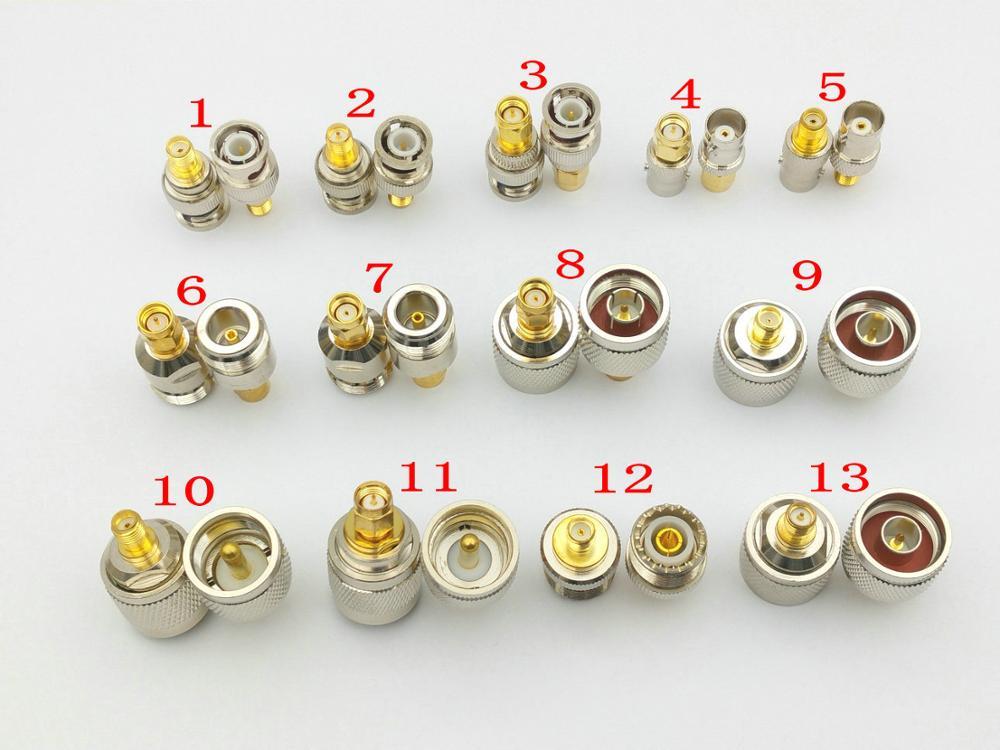 Cable Coaxial RF SMA, UHF N BNC adaptador SMA a N SMA a BNC UHF N WiFi Antena de conector de extensión