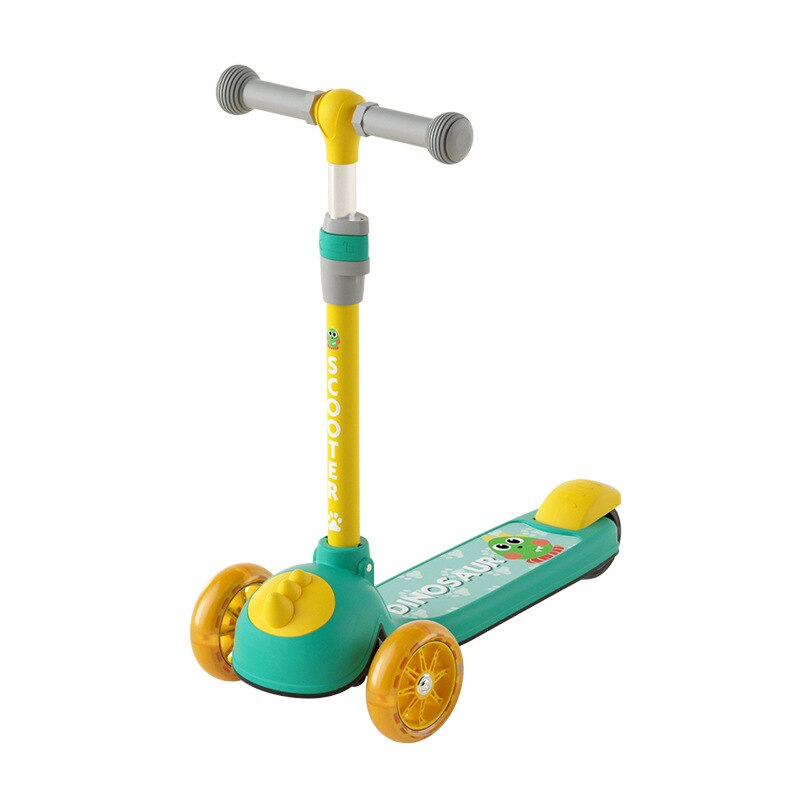Scooter for Kids Light Wheels Scooter Folding Kick Scooter for Toddlers 2-8 Year with Adjustable Height Lightweight Scooter Gift enlarge