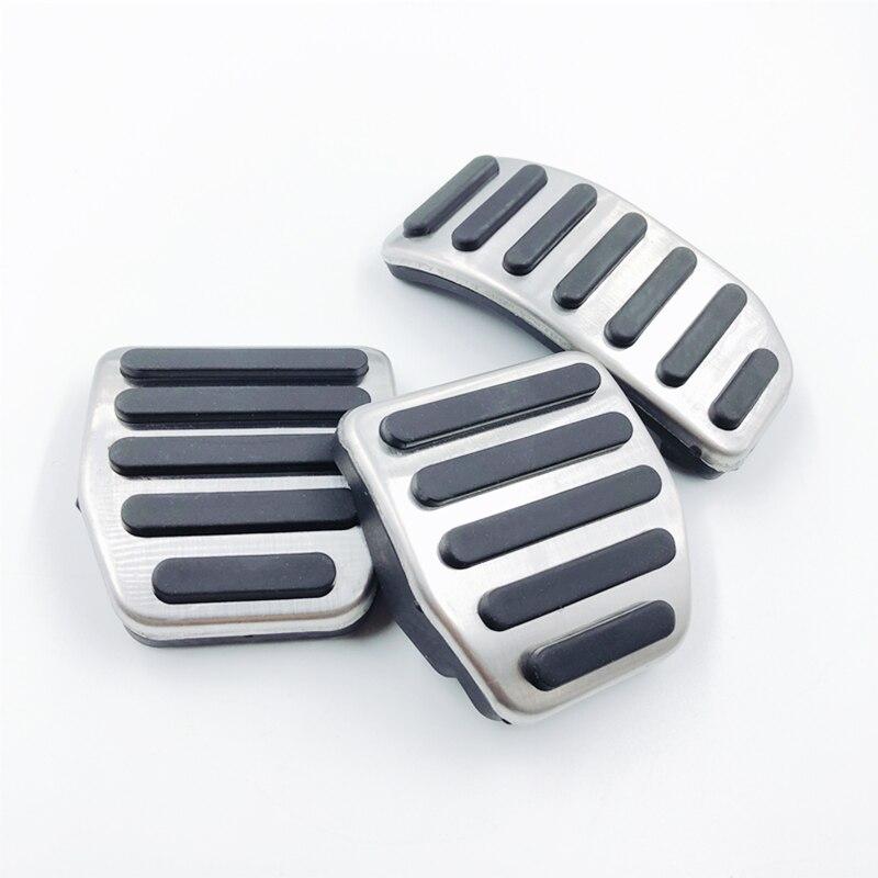 Pedais do carro modificado acessório para volvo xc60 s60 s80l s60l v60 v70 em mt manual gás acelerador apoio para os pés pedal almofada reequipamento capa