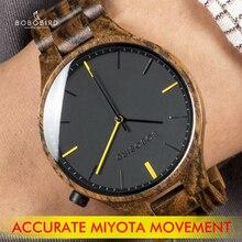 zegarki meskie 2020 BOBOBIRD Top Brand Wood Watch Men Wristwatches Timepiece zegarek with Gift Box L-S27
